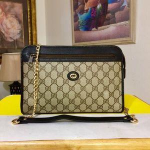 ❌❌SOLD👜💥Gucci Monogram GG Pattern Shoulder Bag